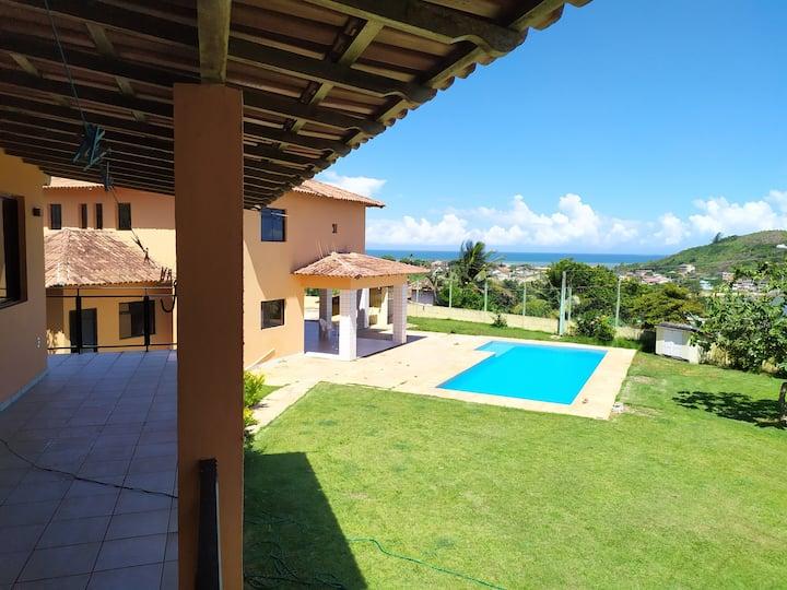 Linda Casa em Setiba, com vista panoramica