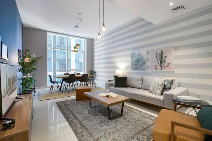One Bedroom, next to the Metro & Word Trade Center, by Blueground