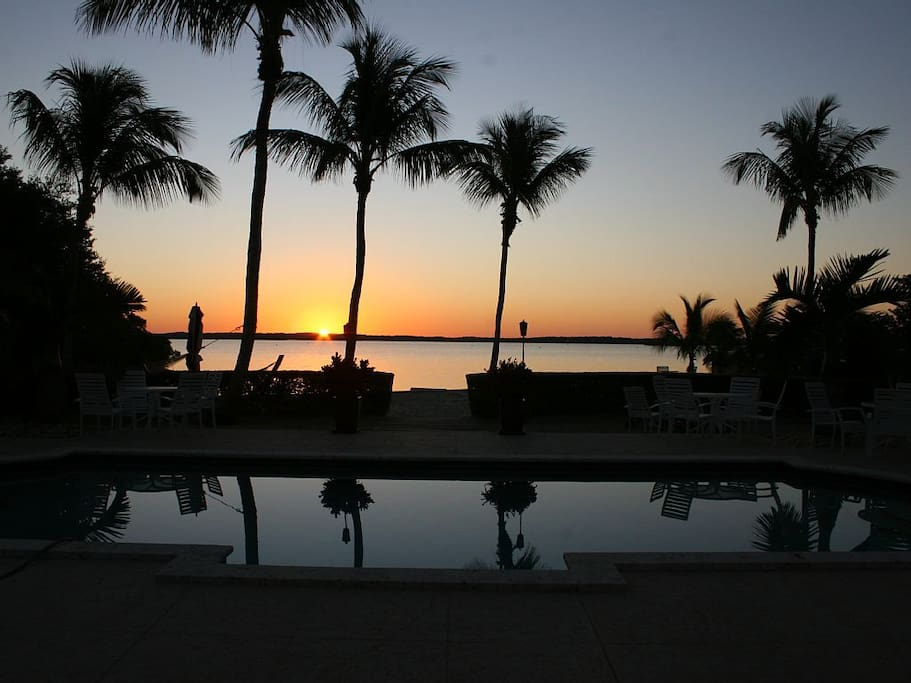 Private Oceanside Sunset