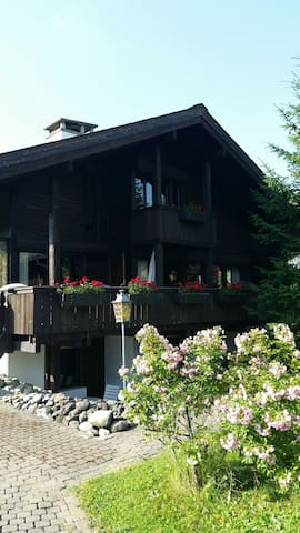 GSTAAD entire chalet city centre - Saanen - Hus