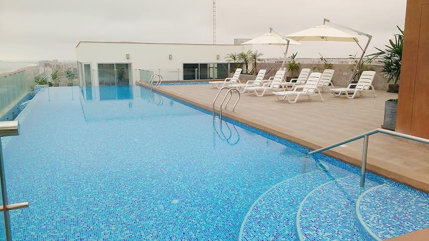 Nice ocean view apartment - San Miguel