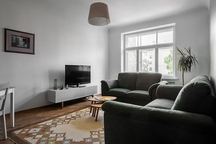 Beautifully sunny, Cosy two bedroom 75m2 apartment