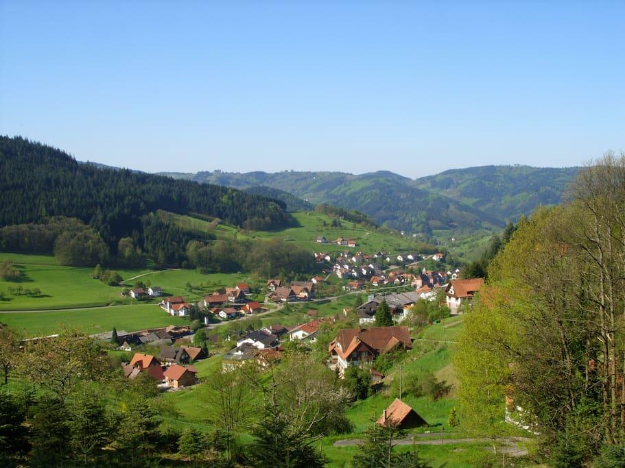 The village of Seebach