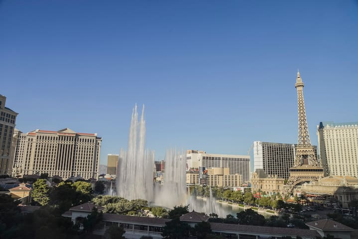 View of Bellagio Fountains