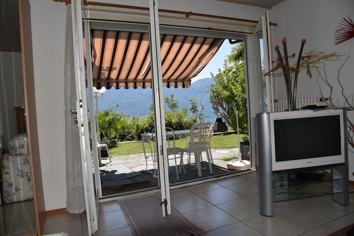 To terrasse Studio 1