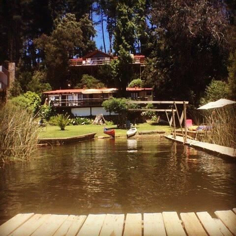 Casa Lago vichuquen, sector QUESERIA - Curicó - House
