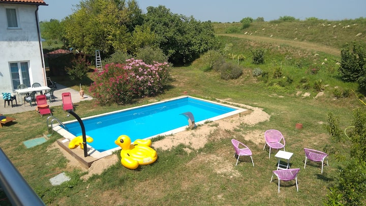 Großzügige Wohnung Ca' Franco, mit Pool