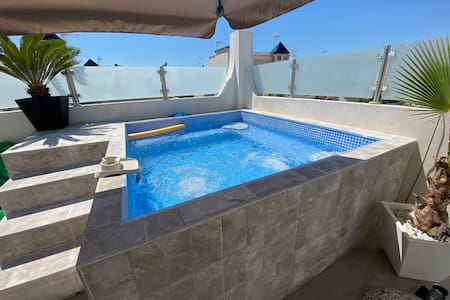 Apartment Playa Bonita with pool and jacuzzi