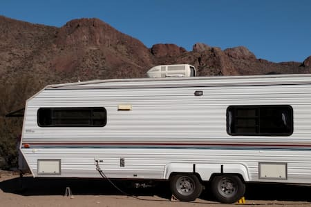 Travel Trailer Next To Saguaro National Park West - Tucson