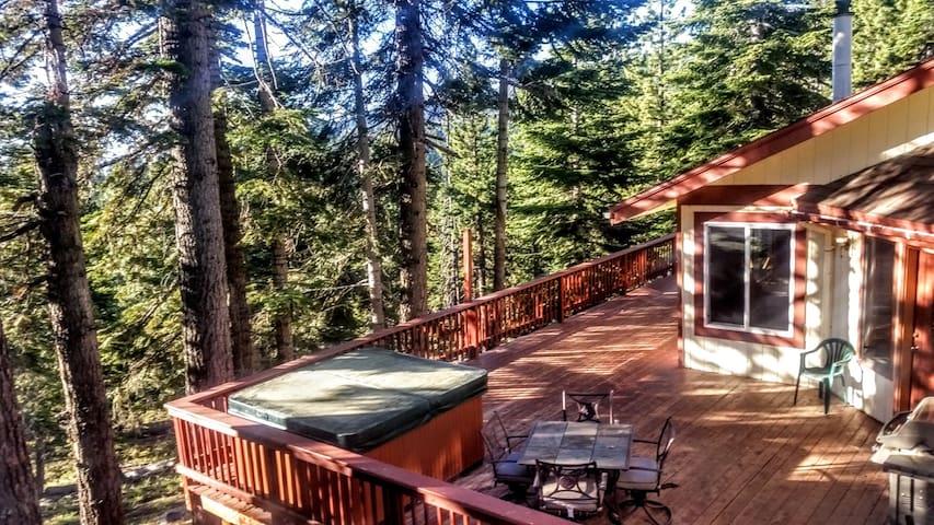 Hot Tub Pool Table Decks View Tahoe 436 Barrett Dr