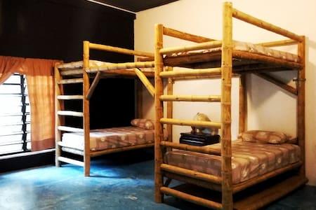Cama en dormitorio compartido - Casa Bambutan - Palenque - Hostel