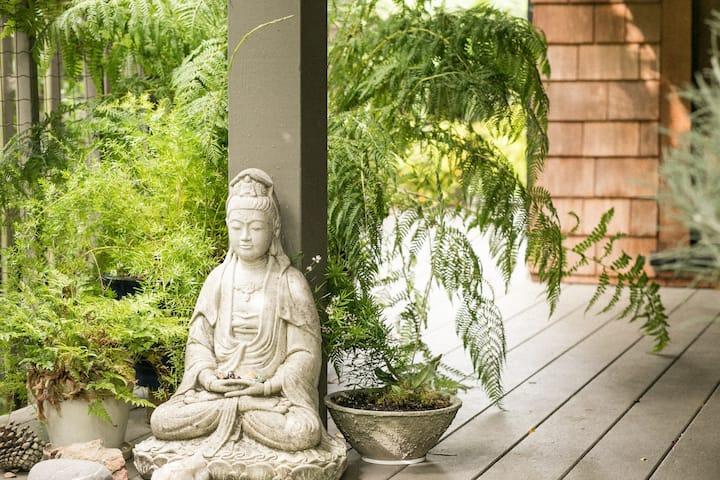 Zen Studio in the Trees