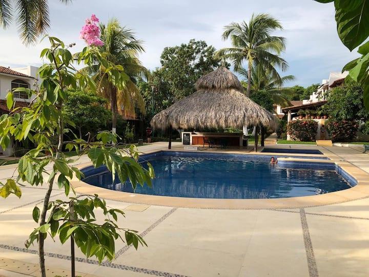 Hermosa Villa ubicada a 5 minutos de la Playa 🏝