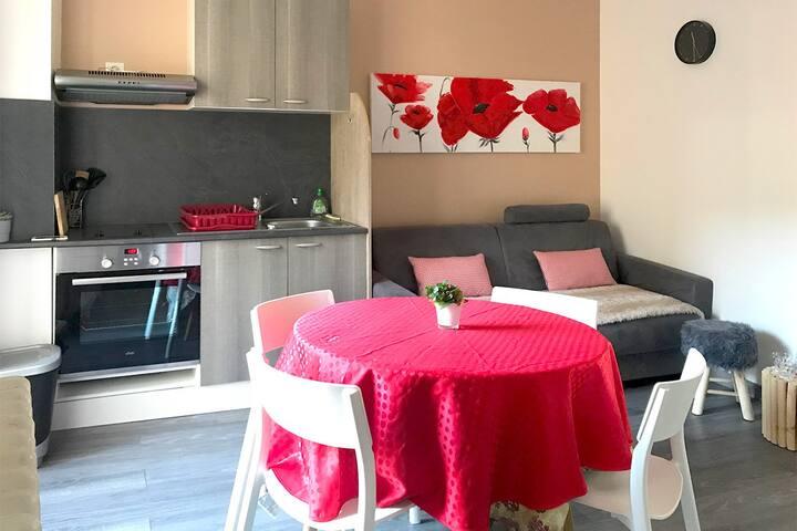 Joli appartement avec terrasse hyper centre