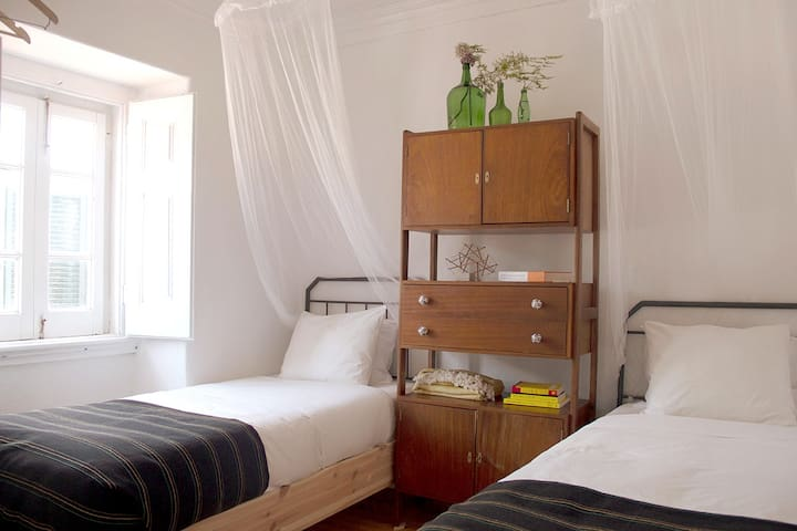 Twin room perfect for friends or kids to share