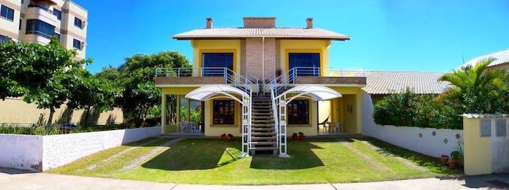 Casa confortável na Praia de Mariscal