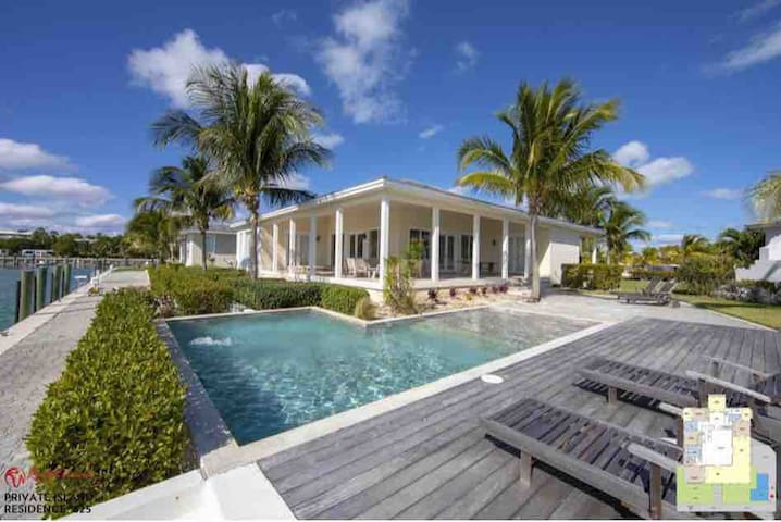Luxury Ocean View Estate on Private Island