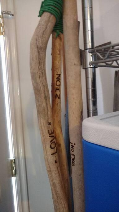 Need a walking stick?