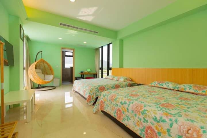 三星彩虹生活美學渡假會館和風家庭房