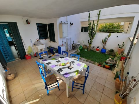 Nice house with fantastic open space, sea at 3 km