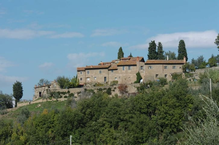 two-room apartment in the countryside with garden - San Polo In Chianti - Appartement