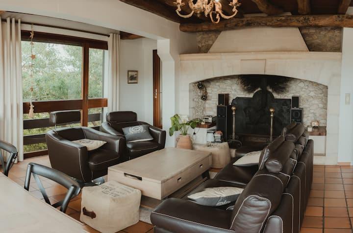 Villa vue bassin Claouey