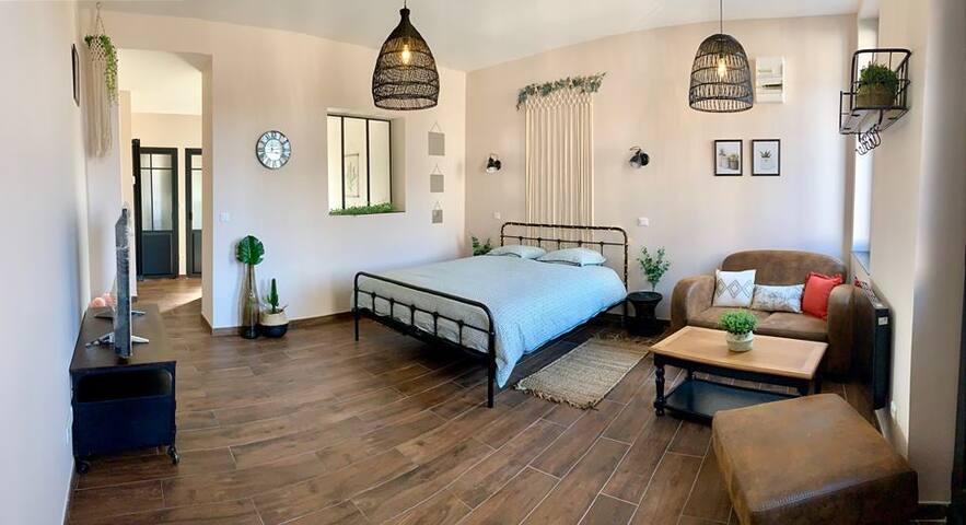6Place de la détente- chambre d'hôtes spa privatif