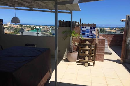 Private Roof Terrace: ocean view, snooker,  BBQ
