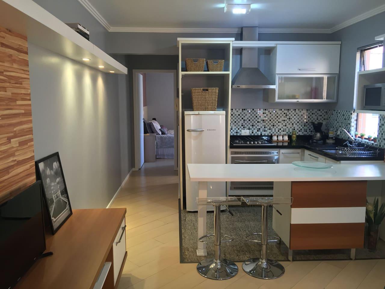 Nice Batel Soho Apartment
