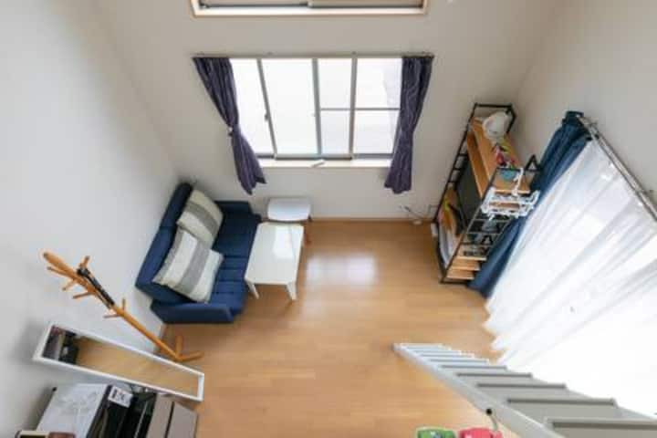 2mins  station/nearby Shinagawa/easily to central