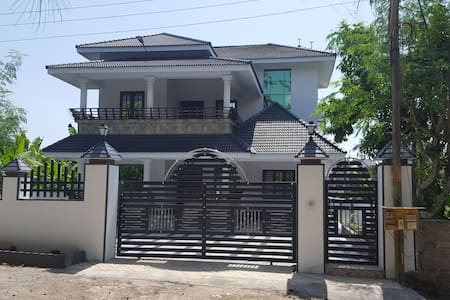 Brand new villa in a gated compound with security