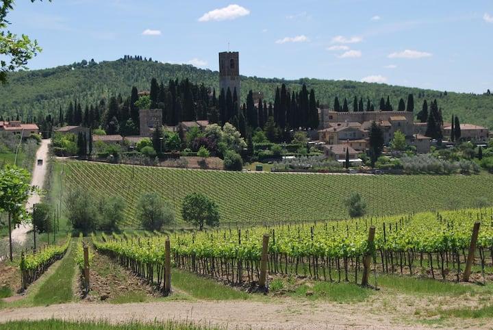 Castelrotto - Idylle unter Olivenbäumen