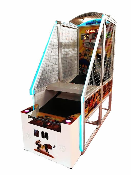 New Feb 18 coin operated basketball machine.