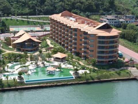 Apartamento Mercure Porto Bali - Vista para o mar