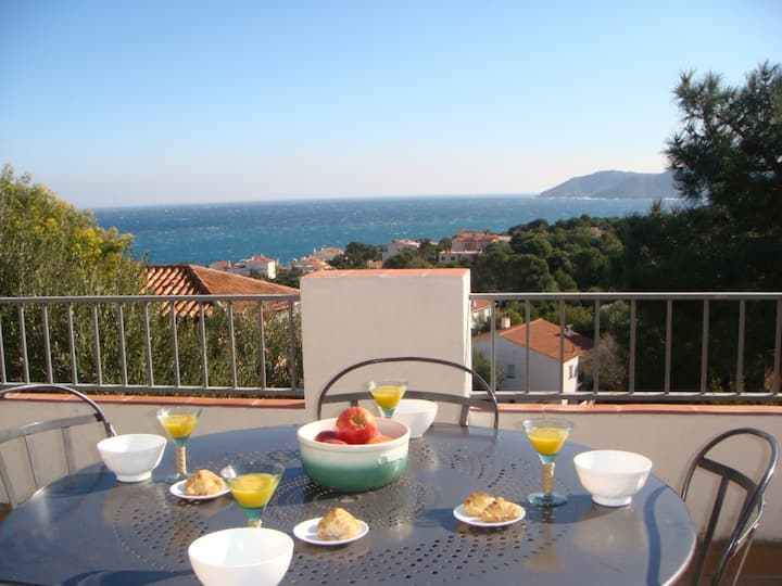 148 Apartment to rent sea views with a large terrace quiet area
