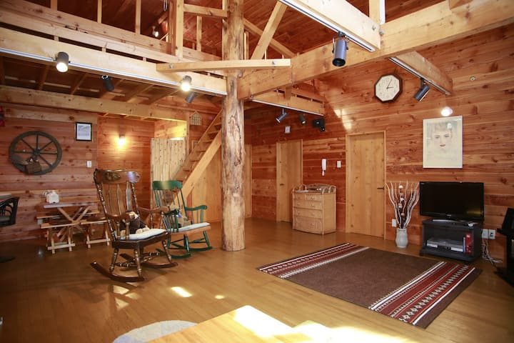 Open SALE 80㎡ Log cabin in Lake Toya w/Parking