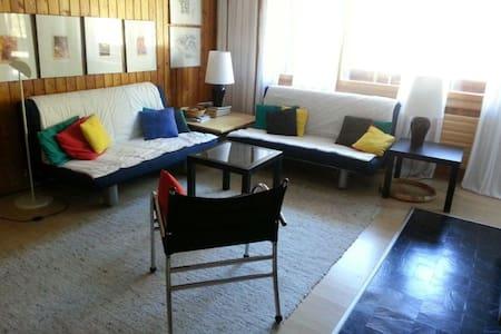 Appartement au pied des pistes, domaine 4 Vallées - Vex - Lägenhet