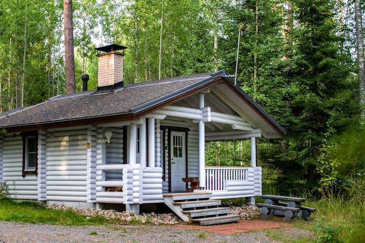 Naali cabin with sauna in family Holiday Village