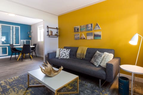 Clean Modern Comfort in Old Strathcona