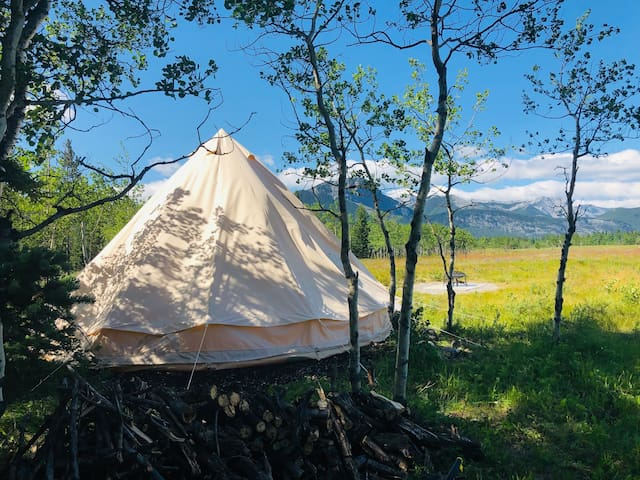 Mountain Escapes Luxury Bell Tent