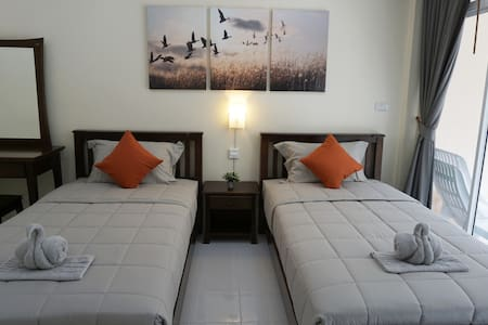 Convenient & Cozy 3 Bedroom Apartment for 8 people - Ko Lanta Yai - อพาร์ทเมนท์