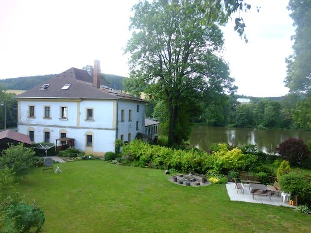 Česko-saské Švýcarsko - Lužické hory - Rybniště