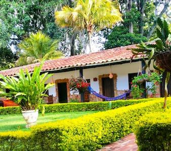 Un rincón en Pinchote - San Gil - Hotel ekologiczny