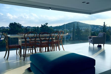 luxury ph private pool+roof garden - Marousi