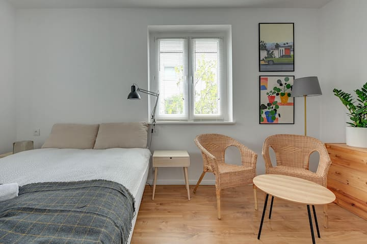 Flat in Sopot near to the beach, parking:)