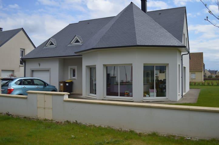 Chambre + SdO - 10min Centre Caen - Cagny - House