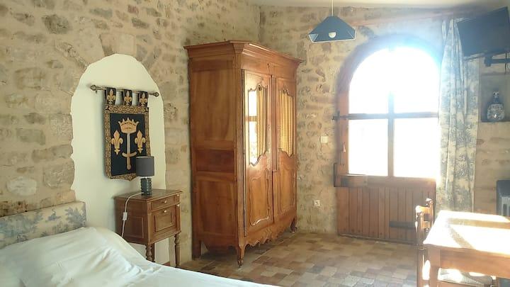 Chambre Aldéarde au Vieux château d'Airvault