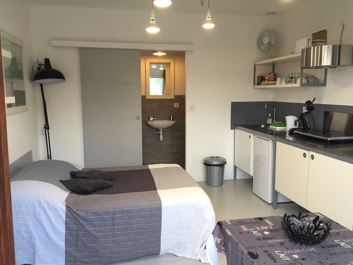Studio 18 m2 dans une maison neuve