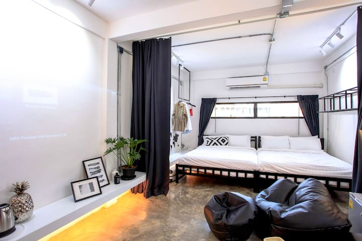 ★ Designer Room #2★ 1m to BTS, 5m to Siam, MBK