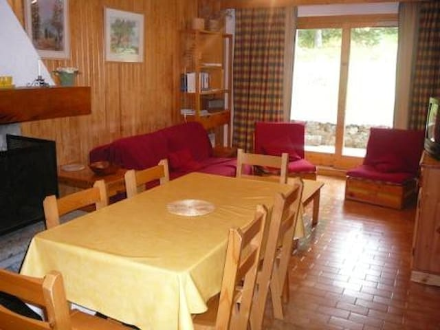 Nice 2 rooms flat for 5 pers. in MERIBEL ALTIPORT, close to the slopes and to the golf